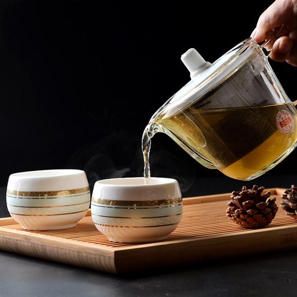 弯ba骨质瓷茶具套装