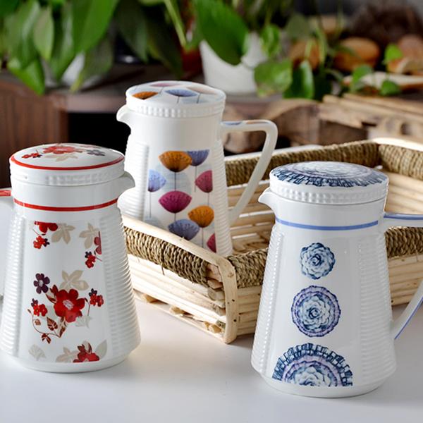 tang山骨质瓷茶壶咖啡壶两用